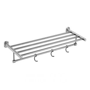"p4 Towel Rack with Hook 24"" inch 1"